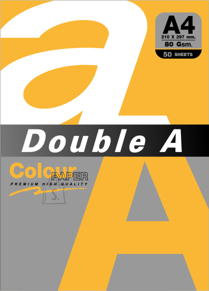 Koopiapaber Double A A4 porgandioranž