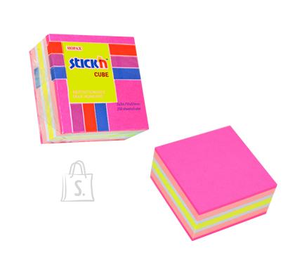 Stick'N märkmekuup 51x51 mm 250 lehte minikuup roosad toonid