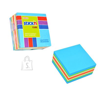 Stick'N märkmekuup 51x51 mm 250 lehte minikuup sinised toonid