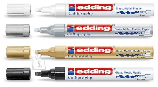 edding kalligraafiline marker 755 1-4mm hõbe