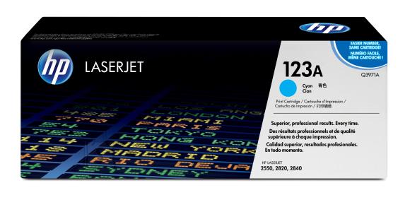HP tooner Color LJ 2550 / 2820 / 2840 (2000lk Cyan