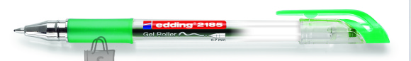 edding geelpliiats 2185 0.7mm roheline