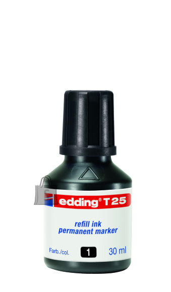 edding markeri täitetint T25 must