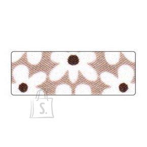 Folia kangateip 15mmx4m lilled pruun