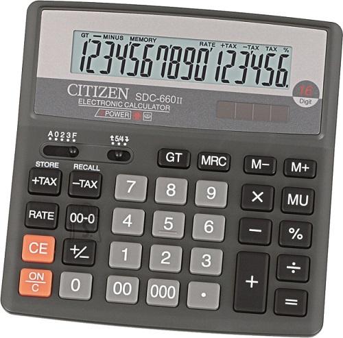 Citizen kalkulaator SDC-660II