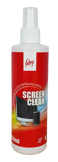 College puhastusvedelik ekraanile 250ml