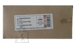 Kirjaklambrid Durable 45mm 1kg/pk vasksed