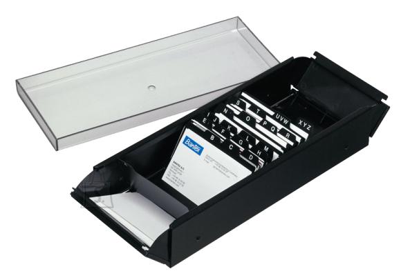 Bantex visiitkaardi karp A-Z 700-le