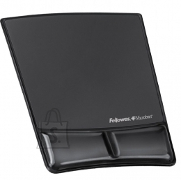Fellowes Hiirematt randmetoega Fellowes tekstiil, must (P)