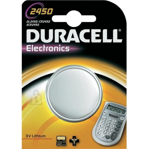 Duracell Patarei Duracell CR2450 liitium (P)
