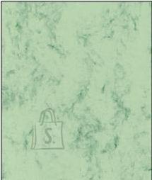 Esinduspaber Marmor A4/90g/100L, roheline/hall
