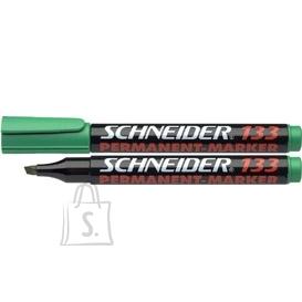 Schneider Permanentne marker Schneider 133 lõigatud ots, roheline (P)
