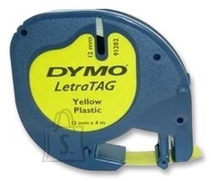 Dymo Kleepkirjalint Dymo LetraTag 12mm x 4m kollane 91202