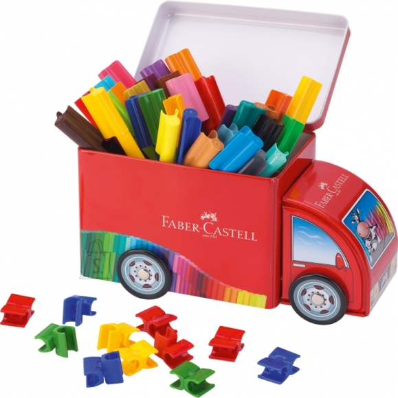 Faber-Castell Viltpliiatsid Faber-Castell 33-värvi auto (P)