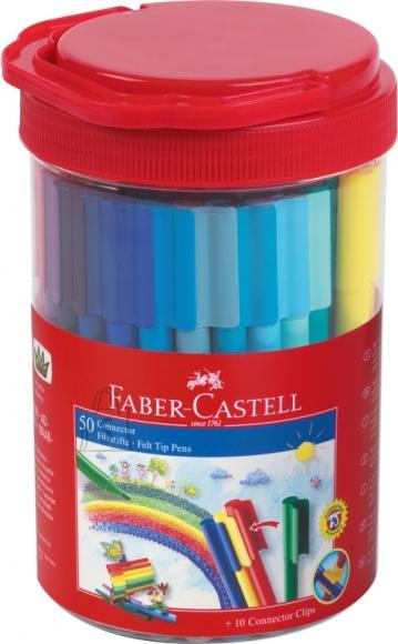 Faber-Castell Viltpliiatsid Faber-Castell 50-värvi ämbris (P)