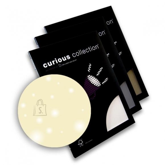 Curious Esinduspaber Curious Metallics Cryogen White A4/120g/50L