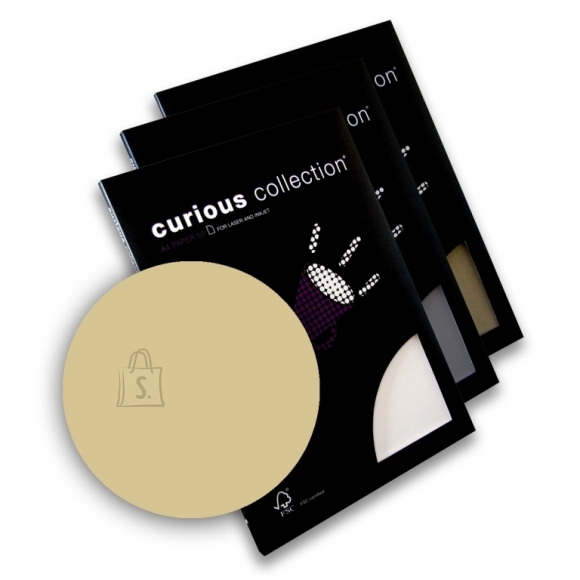 Curious Esinduspaber Curious Metallics Virtual Pearl A4/120g/50L