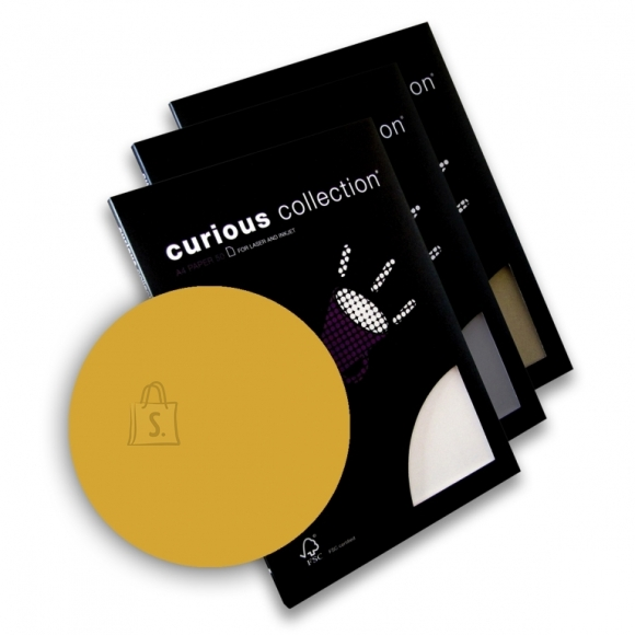 Curious Esinduspaber Curious Metallics Super Gold A4/120g/50L