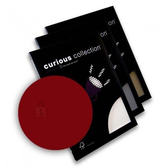 Curious Esinduspaber Curious Red Lacquer A4/100g/50L
