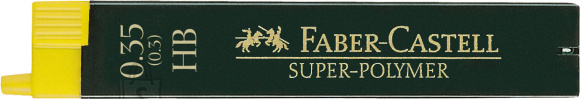 Faber-Castell Mehaanilise pliiatsi söed Faber-Castell Super-Polymer 0,3mm HB