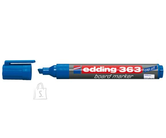 edding Valgetahvlimarker Edding 363 A8 sinine, lõigatud ots 1-5mm