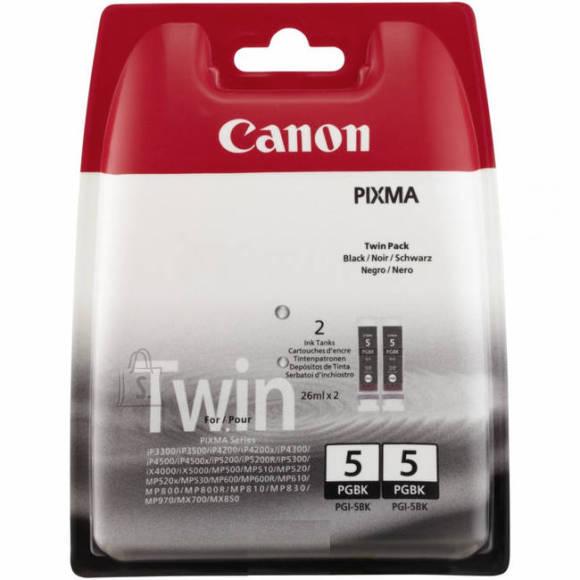 Canon *!Tint toppeltpakk Canon 2x PGI-5Bk 26ml must (P)
