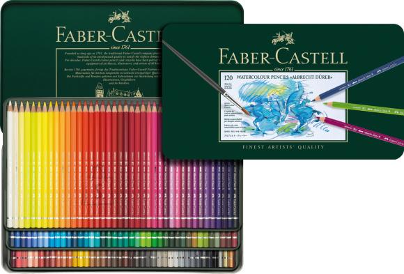 Faber-Castell Akvarell-kunstipliiatsid Faber-Castell Albrecht Dürer 120 värvi