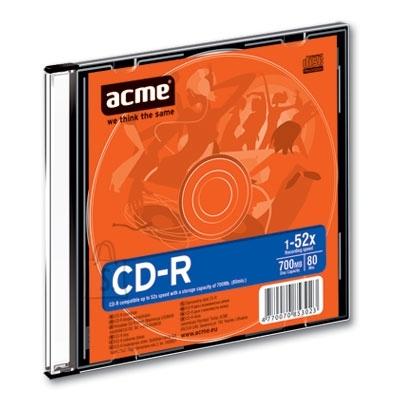ACME CD-R Acme 700MB 52x slim