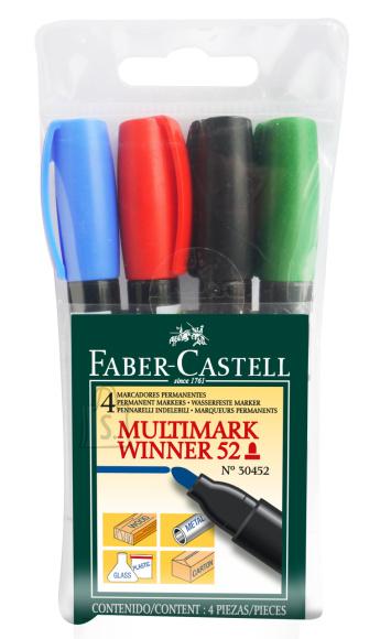 Faber-Castell Marker Faber-Castell Multimark Winner 52 4-värvi komplekt 30452 (P)