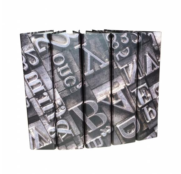 College Registraator College A4 7cm paber/paber pildiga, metall