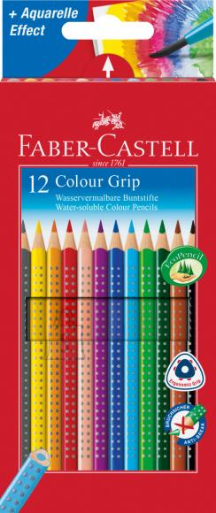 Faber-Castell Värvipliiatsid Faber-Castell Grip 2001 12-värvi