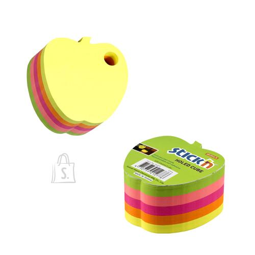 Stick'N Märkmekuup StickN 21277 70x70mm õun 400L, neoonvärvid
