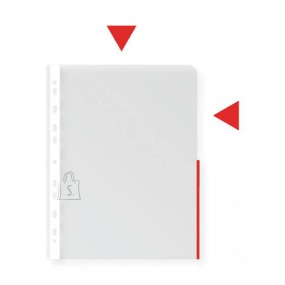 Signaaltasku COLLEGE A4 köidetav 105mic punane