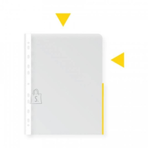Signaaltasku COLLEGE A4 köidetav 105mic kollane
