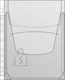 Prolexplast Kiletasku Prolexplast A/A4 känguru, köidetav, klapiga 102-05