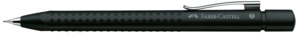 Faber-Castell Mehaaniline harilik pliiats Faber-Castell Grip 2011 must (matt) 0,7mm (P)