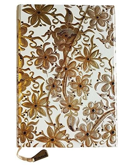 Märkmik Prosper Art F138 u B6/144 lehte, kõva kaanega, magnetiga, valged