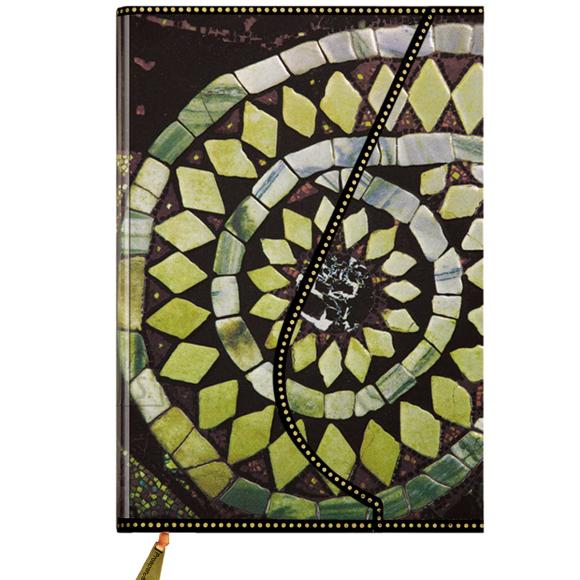Märkmik Prosper Art G141 u A6/128 lehte, kõva kaanega, magnetiga, valged