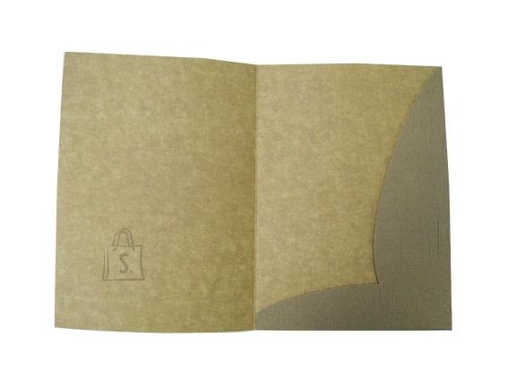 Dokumendikaaned kartong A4, korgipuu