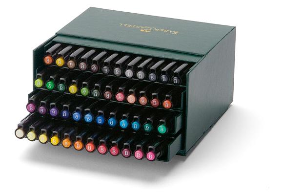 Faber-Castell Pintsel-pliiats Faber-Castell PITT artist pen B st.box 48x