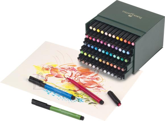 Faber-Castell Pintsel-pliiats Faber-Castell PITT artist pen 60 värvi