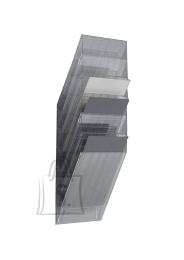 Durable Infoalus Durable Flexiboxx 6-osa seinale, vertikaalne, läbipaistev