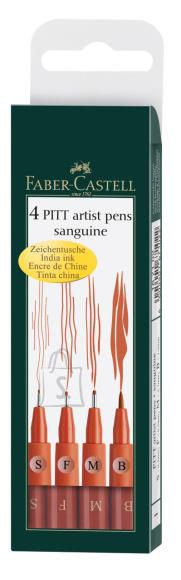 Faber-Castell Pintsel-pliiats Faber-Castell Pitt Artist Pen sangviin 4tk/pk