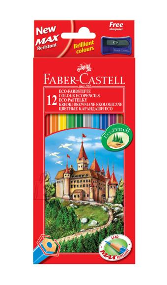 Faber-Castell Värvipliiatsid Faber-Castell Castle/Loss 12-värvi