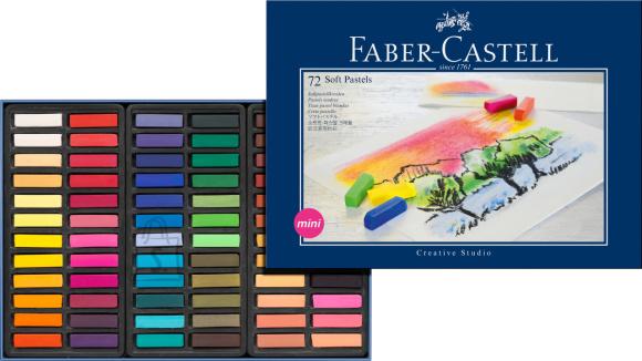 Faber-Castell Pastellkriidid Faber-Castell Mini Creative Studio 72-värvi