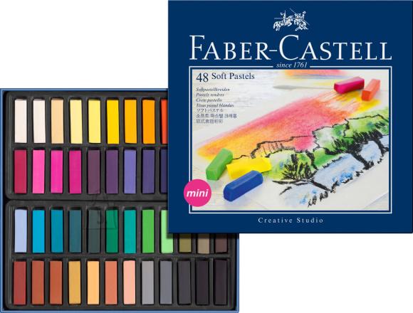 Faber-Castell Pastellkriidid Faber-Castell Mini Creative Studio 48-värvi