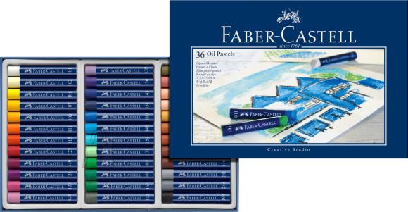 Faber-Castell Õlipastellid Faber-Castell Gofa Creative Studio 36-värvi