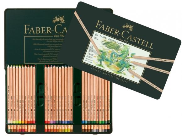 Faber-Castell Värvipliiatsid Faber-Castell PITT PASTEL 60-värvi
