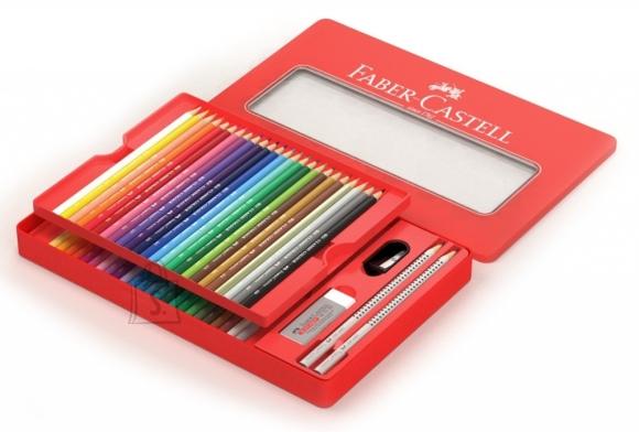Faber-Castell Värvipliiatsid Faber-Castell 48-värvi metallkarbis