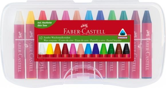 Faber-Castell Rasvakriidid Faber-Castell Jumbo kolmekandilised 12-värvi